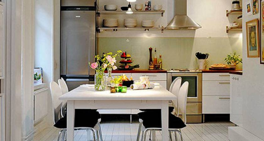 Kitchen Design Small Apartment