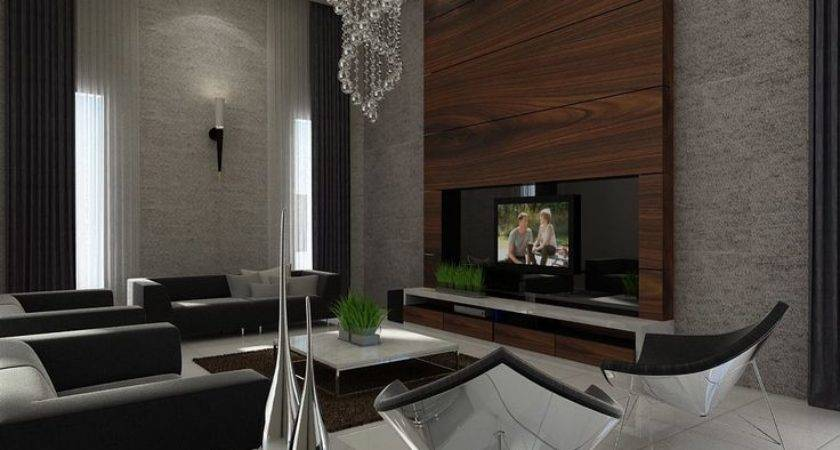 Kitchen Feature Wall Design Living Room