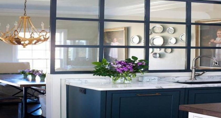 Kitchen Glass Partition Ideas