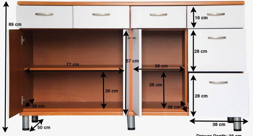 Kitchen Ideal Small Cabinets Sizes