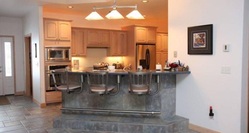 Kitchen Island Breakfast Bar Design Ideas