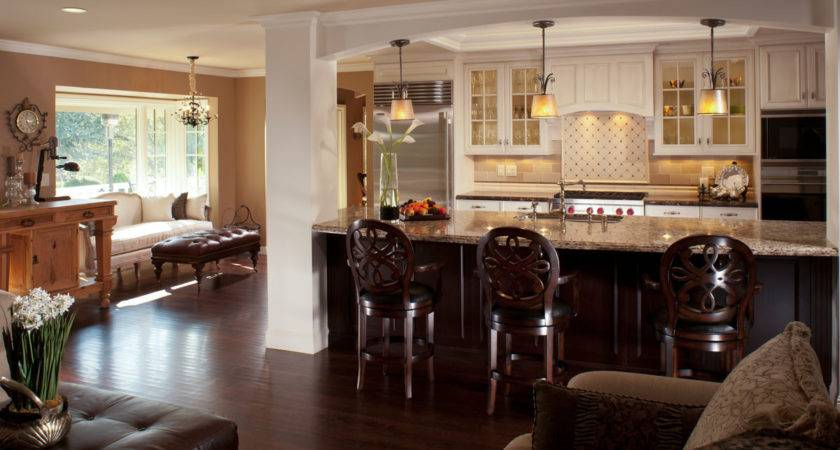 Kitchen Living Room Design Best Tips Applying Open