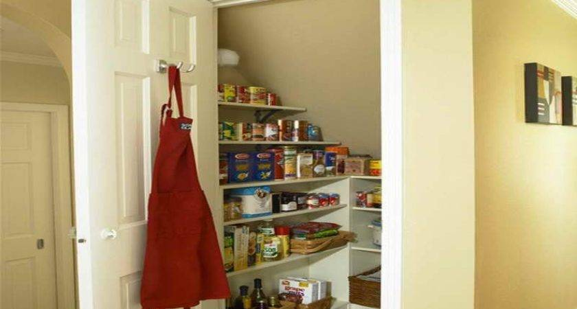 Kitchen Pantry Under Stairs Staircase Shelves