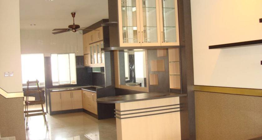 Kitchen Partition Living Room Home Combo Design