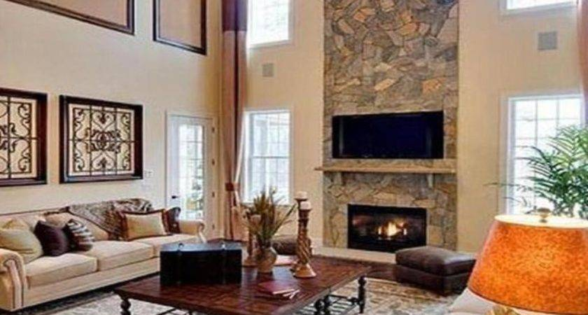 Kitchen Room Coffee Table Ideas Stone Fireplace