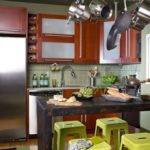 Kitchen Room Simple Design Small Space Middle