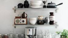 Kitchen Shelving Ideas Decorating Dozen Sfgirlbybay