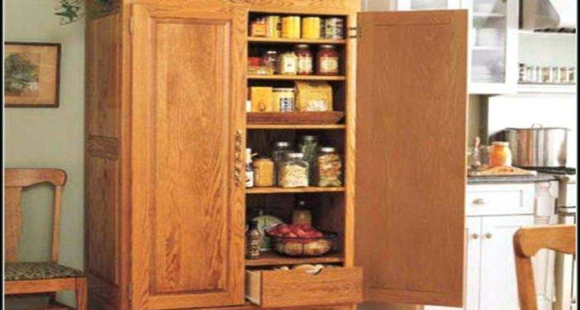 Kitchen Standing Pantry Cabinet