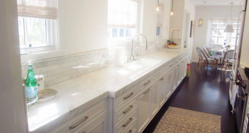 Kitchen Style Modern Galley Eat White