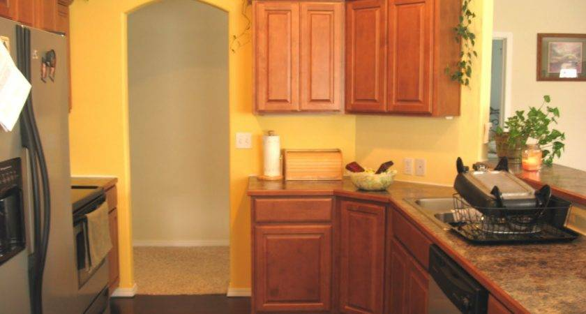 Kitchen Top Yellow Painted Kitchens Interior Design