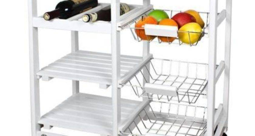 Kitchen Trolleys Storage Cart Ebay