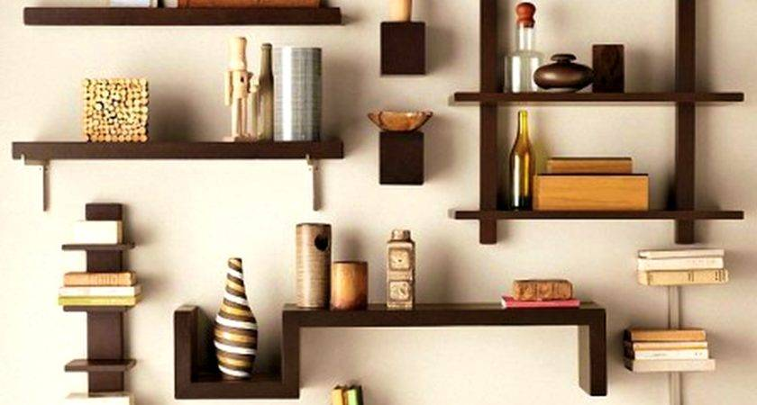 Kitchen Wooden Wall Shelves Amazing