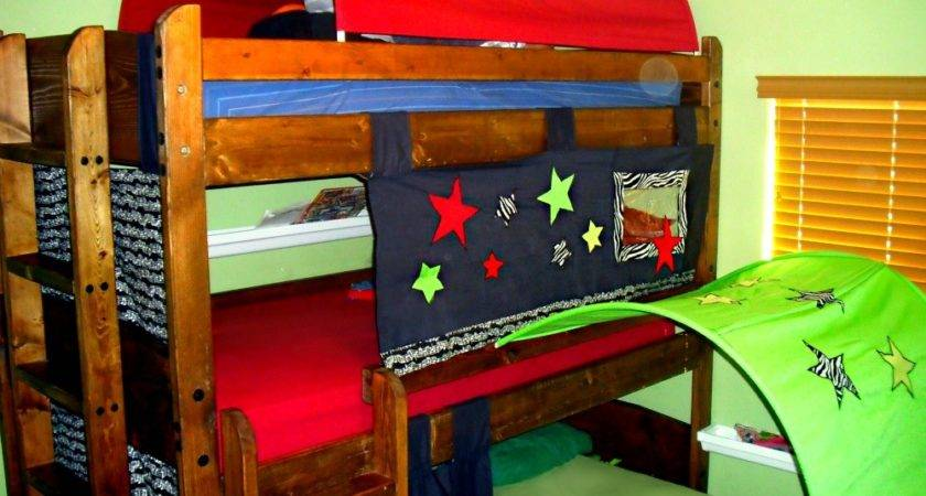 Lady Create Lot Bunk Bed Tents