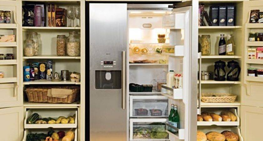 Larder Fridge Freezer Neptune Kitchen Storage