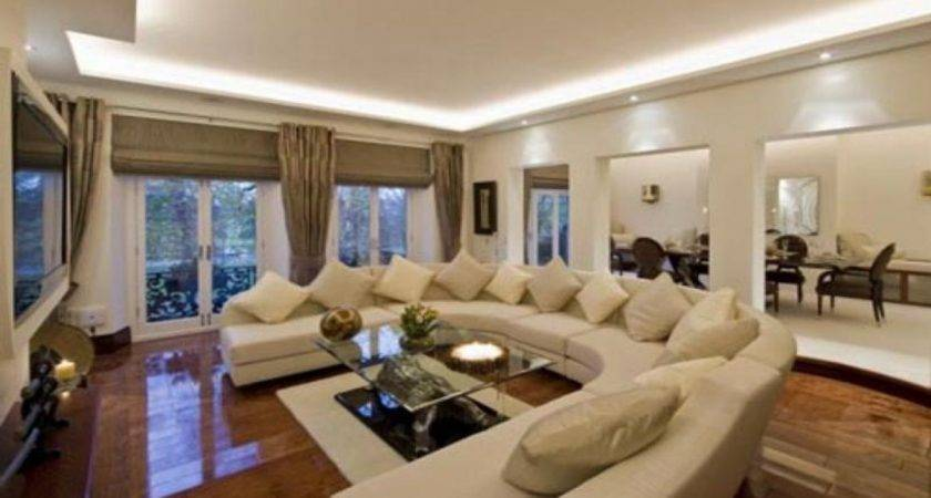 Large Living Room Decorating Ideas