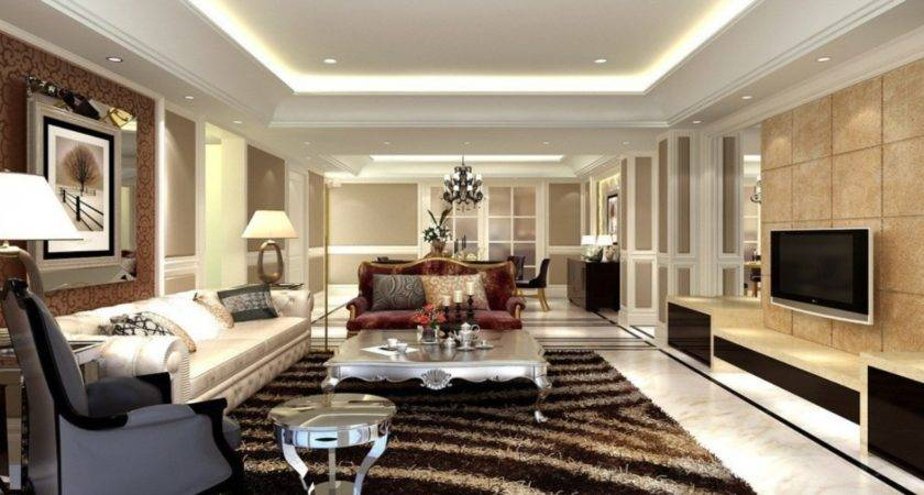Large Living Rooms Designs Warm Cozy Designing Tips