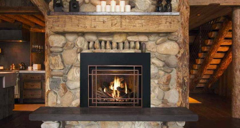 Large Stone Fireplace Ideas Home Interior Design
