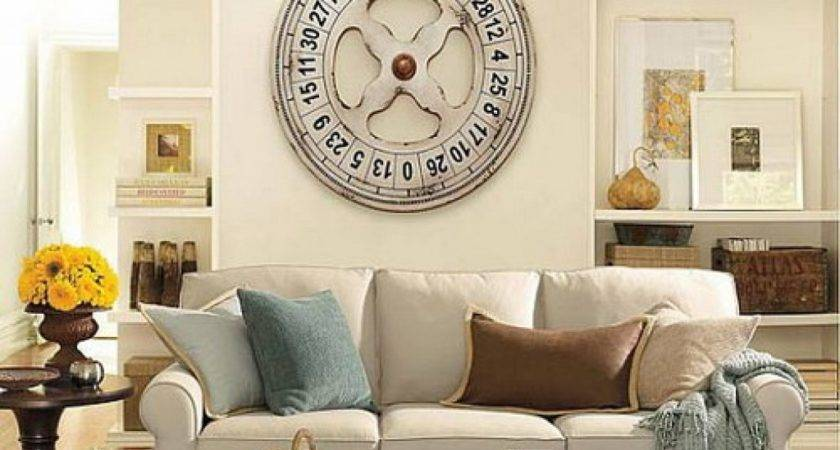 Large Wall Space Ideas Living Room Decorating