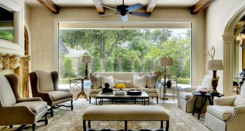 25 Delightful Living Room Big Window Homes Decor
