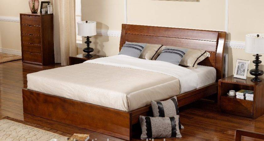 Latest Bedroom Furniture Designs Solid Wood Beds
