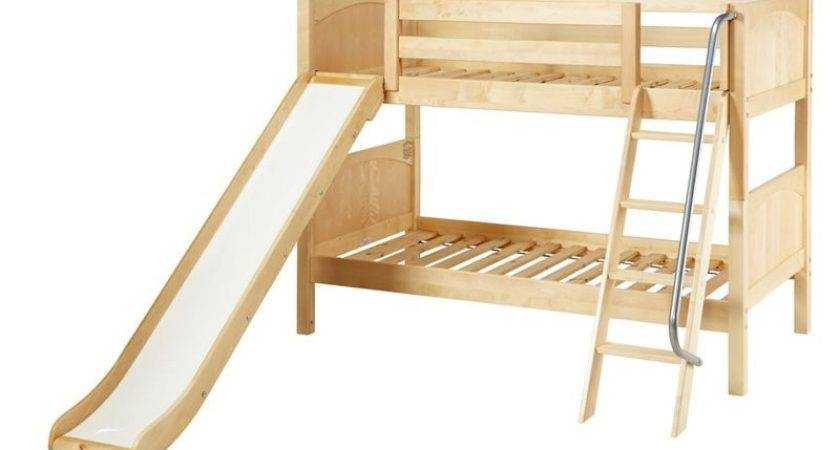 Laugh Twin Over Panel Slide Bunk Bed Kids Trundle