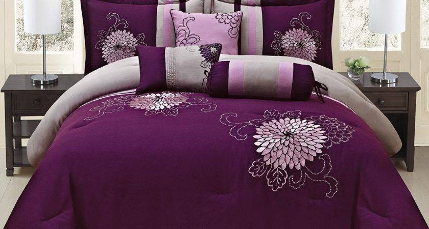 Lavender Comforters Ease Bedding Style