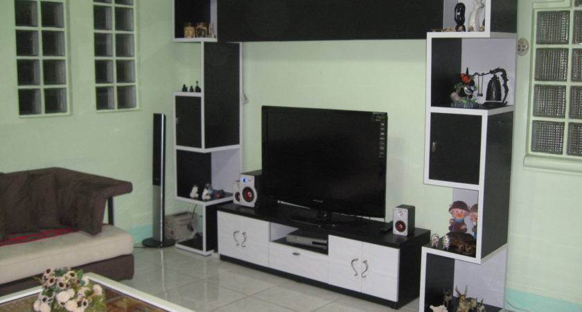 Lcd Cabinet Designs Living Room Home Combo