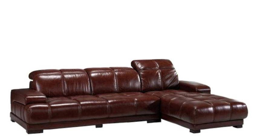 Leather Chaise Lounge Suite