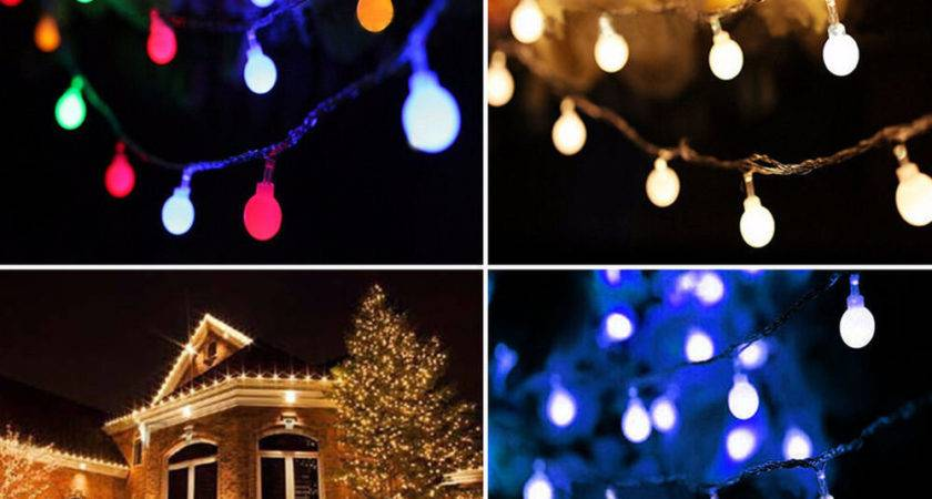 Led String Lights Ball Fairy Light Party Christmas Indoor