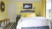 Lemon Yellow Beautiful Blue Stylish Bedroom