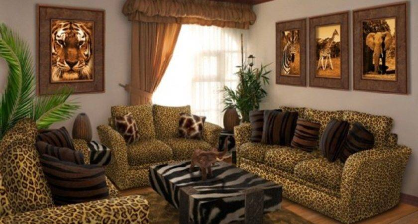 Leopard Living Room Decor