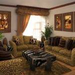 Leopard Living Room Decoratin