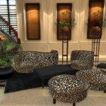 Leopard Print Living Room Set