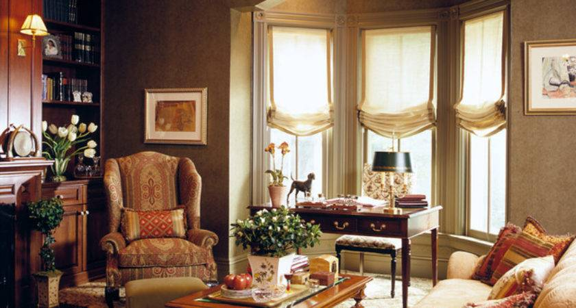 Library Traditional Living Room New York