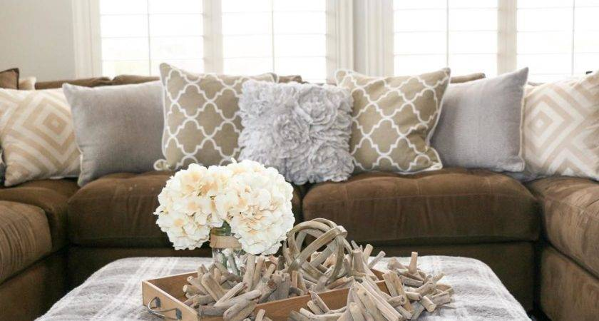 Light Brown Couch Living Room Ideas Colour Curtains