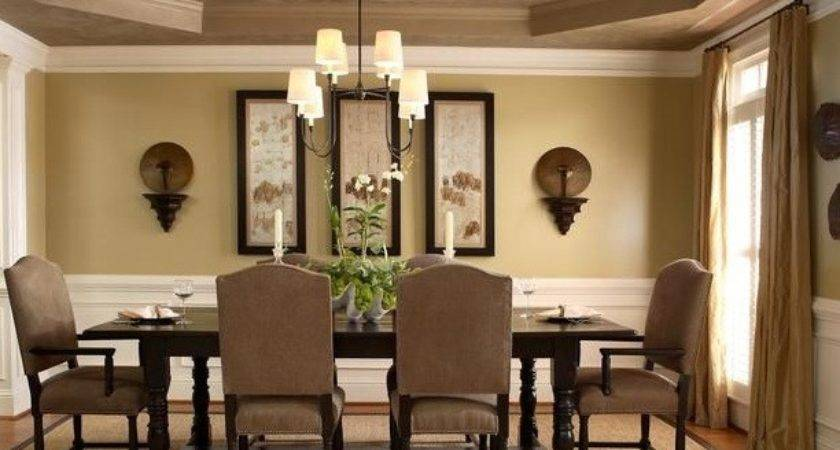 Light Brown Dining Room Paint Colors Classic