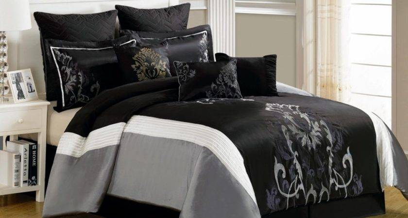 Light Grey Comforter Set Queen Home Design Ideas