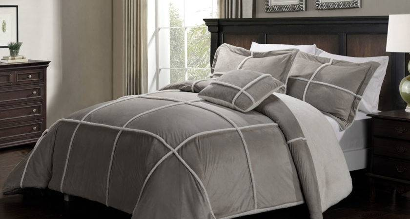 Light Grey Comforter Sets Bedding