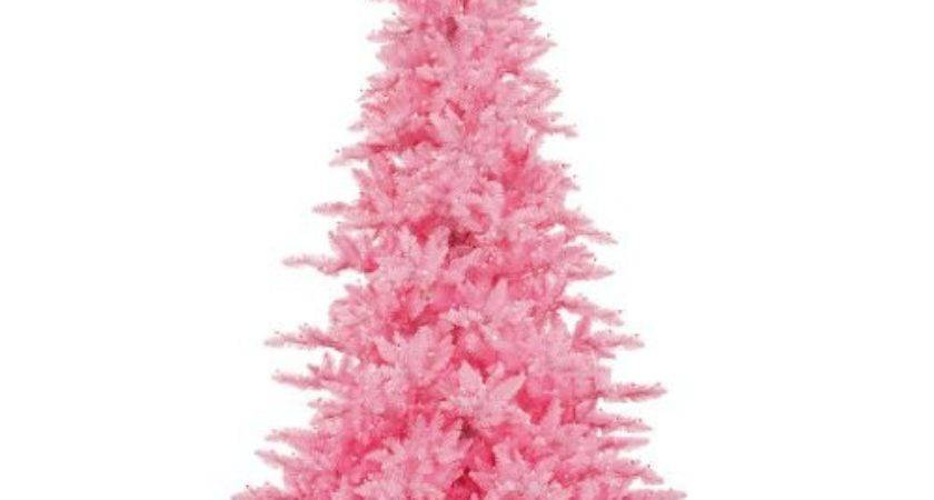 Light Pink Christmas Ornaments Glowing Holidays