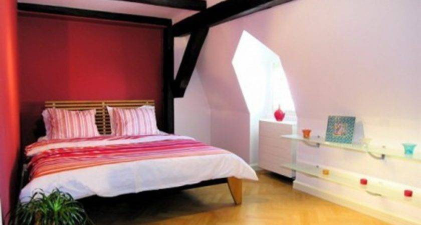 Light Pink Red Bedroom Aprar