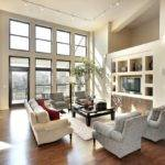 Light Spacious Living Room Interior Design Ideas