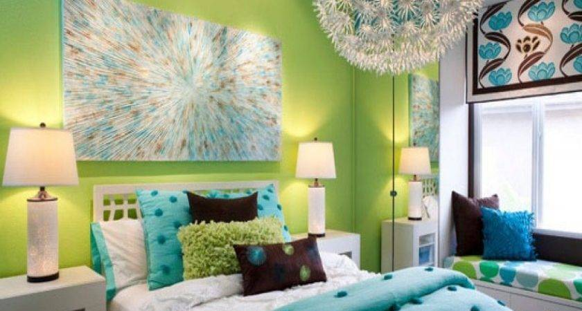 Lime Green Blue Wedding Decorations Turquoise Decor