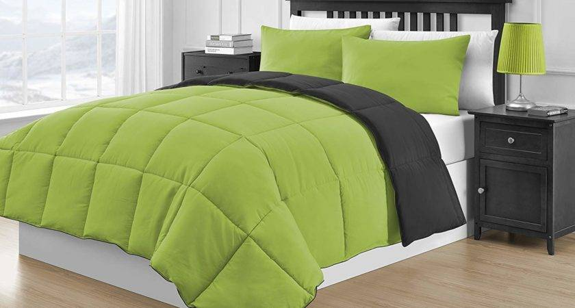 Lime Green Comforter Bedding Ease Style