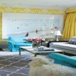 Lime Green Dining Room Coral Tan Yellow Turquoise Decor