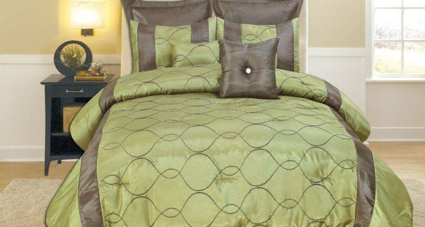 Lime Green Grey Bedding Sets Coral