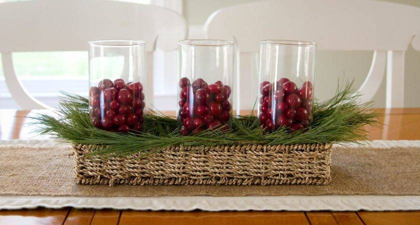 Little Bits Home Sweet Simple Christmas Centerpiece