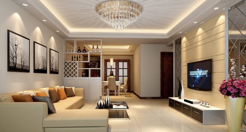 Living Hall Ceiling Design Home Combo