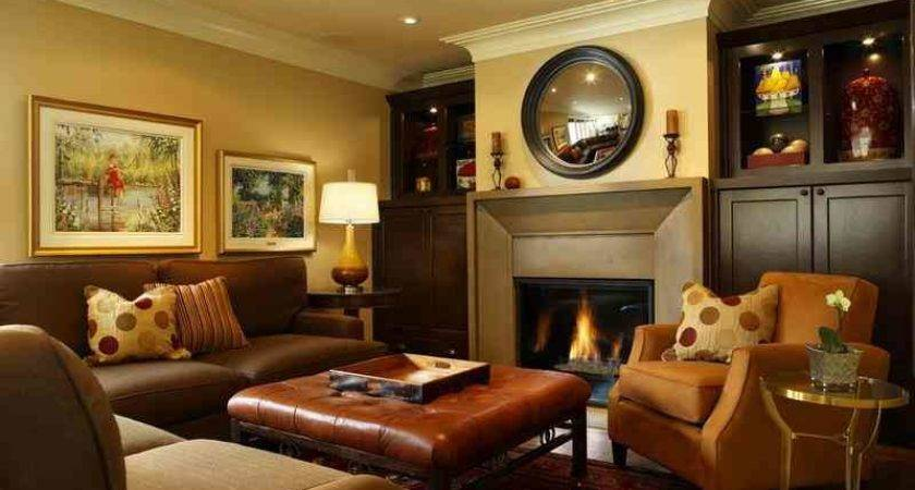 Living Room Accent Wall Ideas Home Round