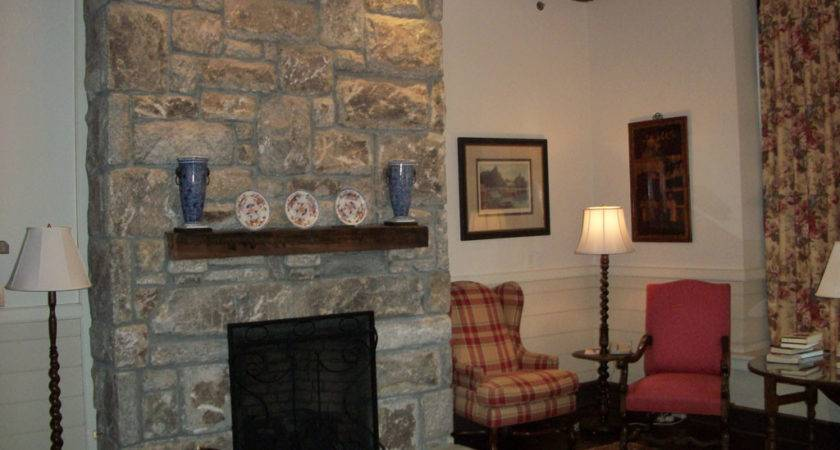 Living Room Breathtaking Stone Fireplaces Home