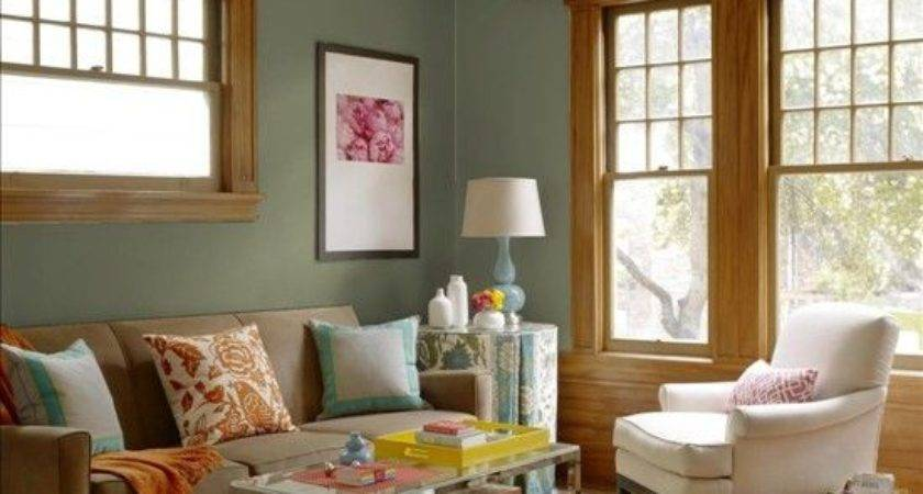 Living Room Brown Paint Colors